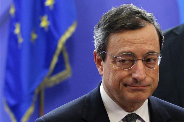 European Central Bank - Mario Draghi
