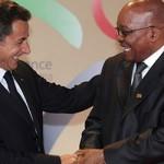 Zuma, Sarkozy to discuss global finance reforms