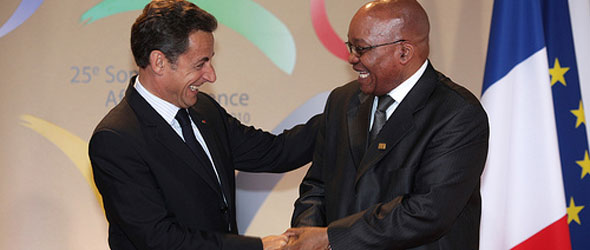Sarkozy, Zuma Business