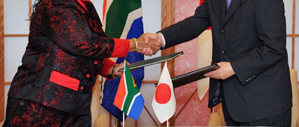 Japanese investment encouraged