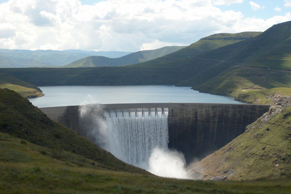 State of the art Dam