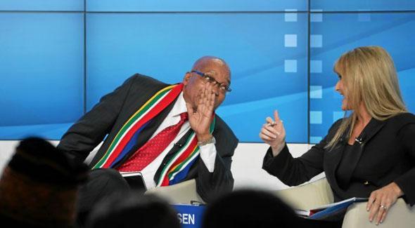 Jacob Zuma - Davos 2013