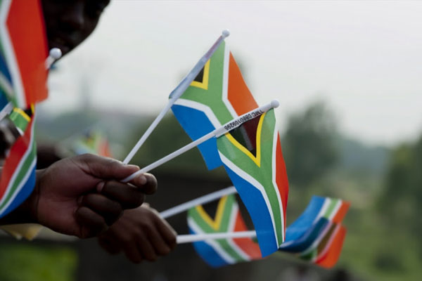 south africa - flagged